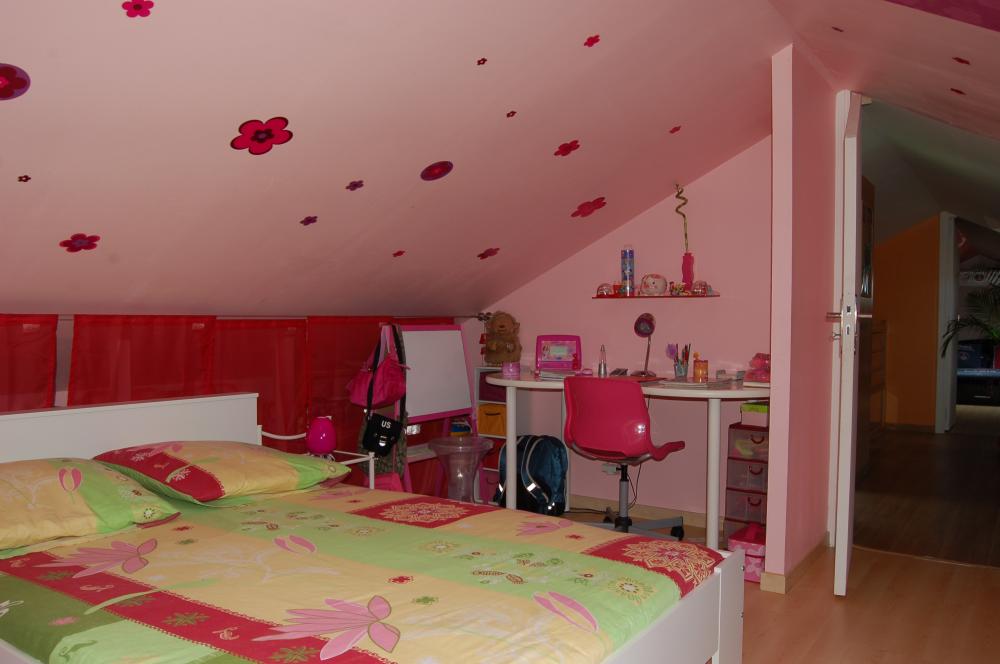 Chambre d 39 enfants am nagement de combles harnois for Chambre d enfants