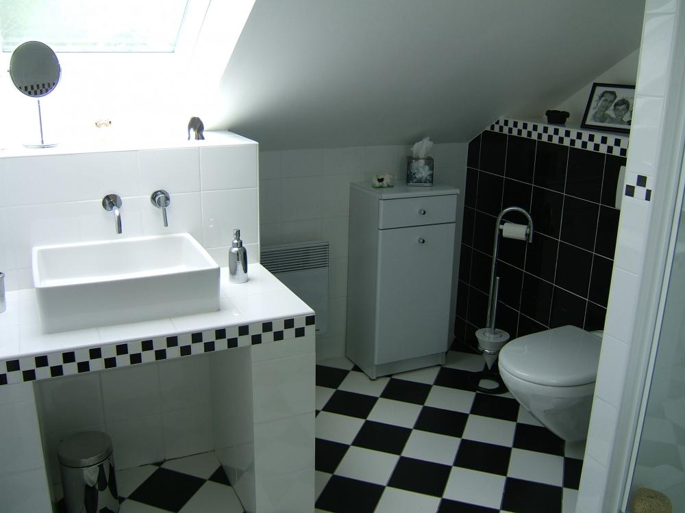 Salle de bains am nagement de combles harnois for Cout d amenagement des combles