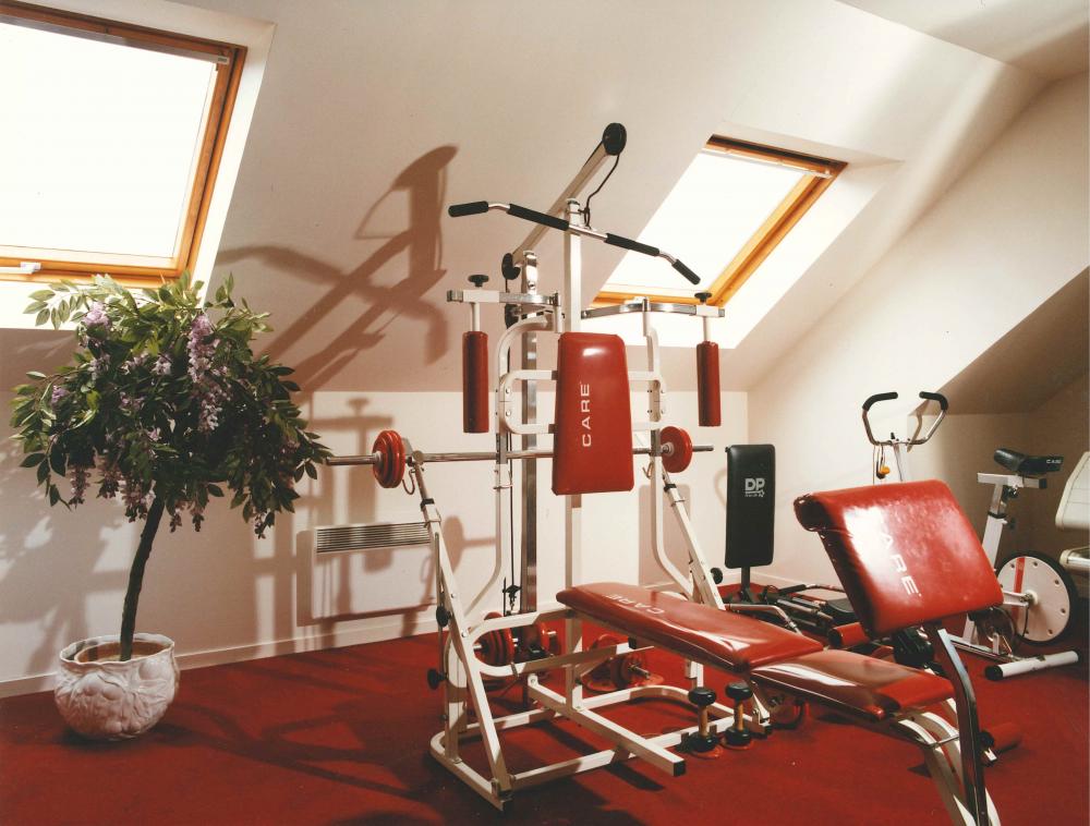 Aménagement Salle De Sport salle de sport - aménagement de combles harnois