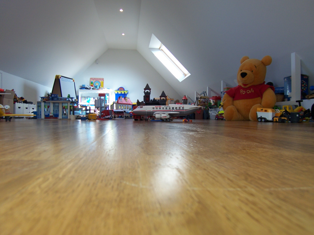 salle de jeux am nagement de combles harnois. Black Bedroom Furniture Sets. Home Design Ideas
